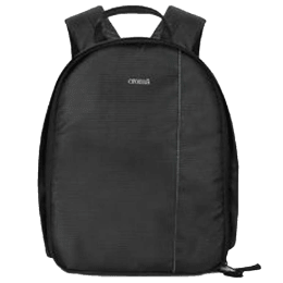 Croma Polyester Dobby Fabric DSLR Backpack (IA2006, Black)_1