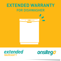 Onsitego 1 Year Extended Warranty for Dishwasher (Rs.150,000 - Rs.200,000)_1