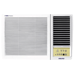 Voltas 1 Ton 3 Star Window AC (Copper Condenser, 123 LZF, White)_1