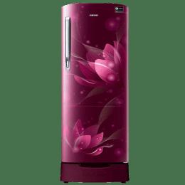Samsung 192 L 5 Star Direct Cool Single Door Inverter Refrigerator (RR20N182XB8/HL)_1