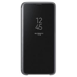 Samsung Clear View Flip Case for Galaxy S9 Plus (EF-ZG965CBEGIN, Black)_1