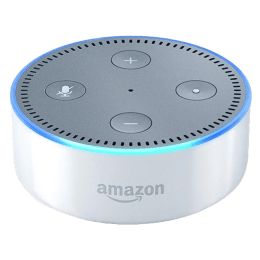 Amazon Echo Dot 2nd Generation Smart Speaker (B071V2RN3V, White)_1