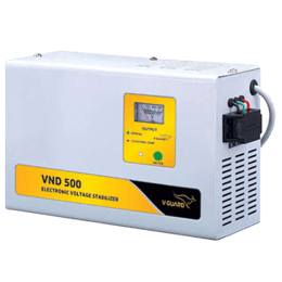 V-Guard Voltage Stabilizer (VND 500, Grey)_1