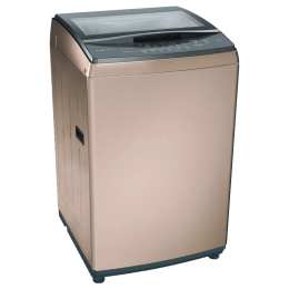 Bosch 8 Kg 5 Star Fully Automatic Top Loading Washing Machine (WOA802R0IN, Champagne)_1