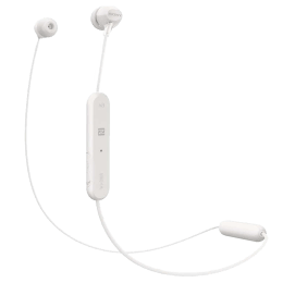 Sony In-Ear Bluetooth Earphones with Mic (WI-C300, White)_1