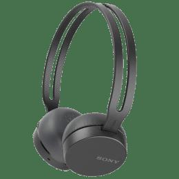 Sony WH CH400 Bluetooth Headphones (Black)_1