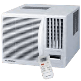 O General 0.75 Ton 2 Star Window AC (AKGB09FAWA, Copper Condenser, White)_1