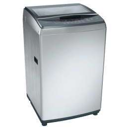 Bosch 7 kg Fully Automatic Top Loading Washing Machine (WOA702S0IN, Silver)_1