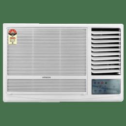 Hitachi Kaze Plus 1.5 Ton 3 Star Window AC (Copper Condenser, RAW318KUD, White)_1