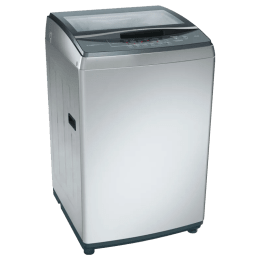 Bosch 7.5 kg Fully Automatic Top Loading Washing Machine (WOA752S0IN, Silver)_1