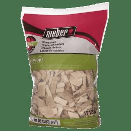 Weber Apple Wood Chips 2 Pound Bag (Brown)_1