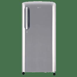 LG 190 L 4 Star Direct Cool Single Door Inverter Refrigerator (GL-B201APZX, Steel)_1