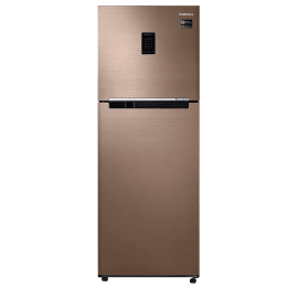 Samsung 324 L 3 Star Inverter Frost-Free Double-Door Refrigerator (RT34M5538DP, Refined Bronze, Convertible)_1