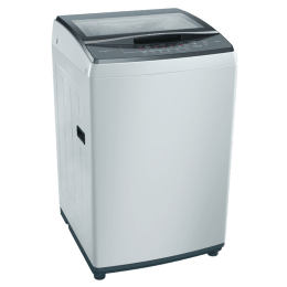 Bosch 7 Kg 5 Star Fully Automatic Top Loading Washing Machine (WOE704Y0IN, Grey)_1