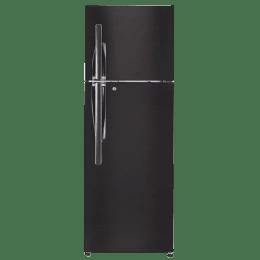 LG 360 L 4 Star Frost Free Double Door Inverter Refrigerator (GL-T402JBLN, Black Steel)_1