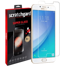 Scratchgard Screen Protector for Samsung Galaxy C7 Pro (Transparent)_1