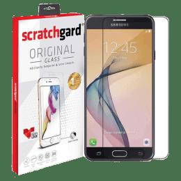 Scratchgard Original Tempered Glass Screen Protector for Samsung Galaxy J7 Prime (Transparent)_1