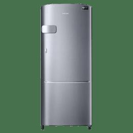 Samsung 192 L 3 Star Direct Cool Single Door Inverter Refrigerator (RR20N1Y2ZS8 , Inox)_1