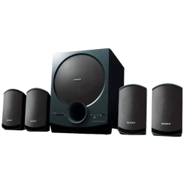 Sony SA-D40 4.1 Channel Multimedia Speaker (Black)_1