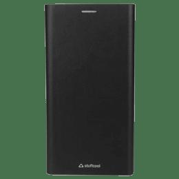 Stuffcool Flipit PU Leather Flip Case Cover for Oppo F5 (FLPTOPF5, Black)_1