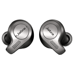 Jabra Elite 65t In-Ear Truly Wireless Earbuds with Mic (Bluetooth 5.0, Alexa-Enabled, Black)_1