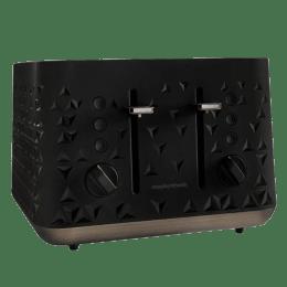 Morphy Richards 2200 Watt 4 Slice Toaster (Prism, Black)_1