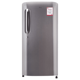 LG 215 Litres 4 Star Direct Cool Inverter Single Door Refrigerator (Solar Smart, GL-B221APZY.DPZZEB, Shiny Steel)_1