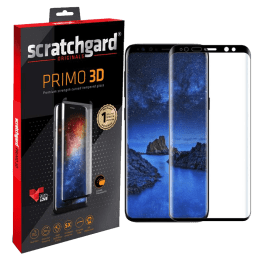 Scratchgard Primo 3D Tempered Glass Screen Protector for Samsung Galaxy S9 (Transparent)_1