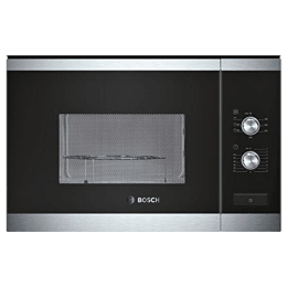 Bosch Serie 6 25 Litres Built-In Microwave Oven (Mechanical Control, HMT82G654I, Stainless Steel)_1