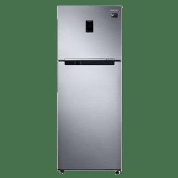 Samsung 415 Liters 2 Star Frost Free Double Door Inverter Refrigerator (RT42M5538S8/TL, Elegant Inox)_1
