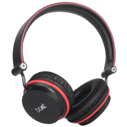 boAt Rockerz 400 Over-Ear Wireless Headphone with Mic (Bluetooth 4.1, Extra Bass, Red)_1