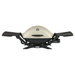 Weber Q 2200 Gas Griller (Indoor & Outdoor, 54060001, Titanium)_1