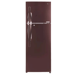 LG 335 L 4 Star Frost Free Double Door Inverter Refrigerator (GL-T372JASN, Amber Steel)_1