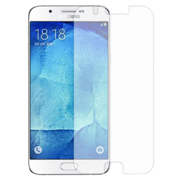 Stuffcool Puretuff Tempered Glass Screen Protector for Samsung Galaxy A8 (MGGPSGA818, Black)_1