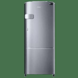 Samsung 212L 3 Star Direct Cool Single Door Inverter Refrigerator (RR22N3Y2ZS8/HL, Inox)_1
