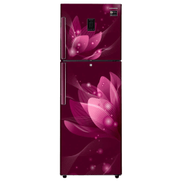 Samsung 324 L 3 Star Frost Free Double Door Inverter Refrigerator (RT34M5438R8, Red)_1