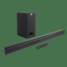 JBL Cinema SB130 2.1 Channel Soundbar with Wired Subwoofer (JBLSB130BLKIN, Black)_1