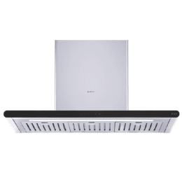 Elica Galaxy 60cm Baffle Filter Wall Mount Chimney (ETB Plus LTW 60 T4V LED S, Stainless Steel)_1