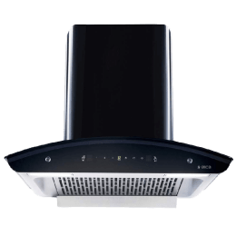 Elica 1425 m3/hr 60cm Filterless Chimney (Touch and Motion Sensor, WD TFL HAC 60 MS Nero, Black)_1