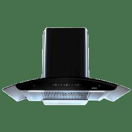 Elica 1425 m3/hr 90cm Filterless Chimney (Auto Clean, WD TFL HAC 90 MS Nero, Black)_1