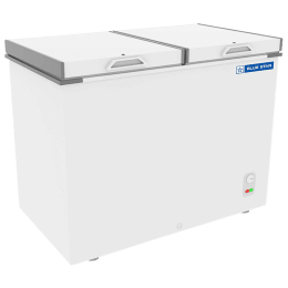 Blue Star 470 Litres Direct Cool Double Door Deep Freezer (Eco-friendly Refrigerant, CHFDD500MGPW, White)_1