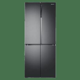Samsung 594 L Triple Cooling Side By Side Door Inverter Refrigerator (RF50K5910B1/TL, Black)_1