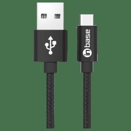 Inbase Nylon Braided Type-C Charging Cable (BraidedTypeC, Black)_1