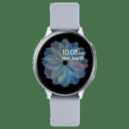 Samsung Galaxy Active 2 Smartwatch (GPS, 34.5mm) (Heart Rate Sensor, SM-R820NZSAINU, Black/Grey, Silicone Band)_1