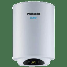 Panasonic Duro Digi 10 Litres 5 Star Storage Water Geyser (2000 Watts, WSPVP10MW01A, White)_1