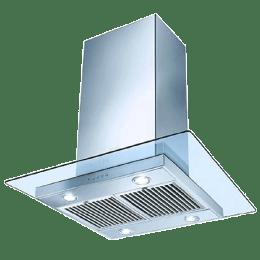 Faber Glassy Isola Sunzi 1000 m³/hr 60cm Ceiling Chimney (Baffle Filter, LTW 60, Stainless Steel)_1
