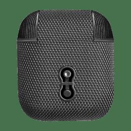 Cygnett TekView Protective Full Cover Charging Case for Apple AirPods (CY2954TEKVI, Black)_1