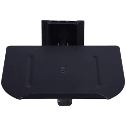 RD Plast Wall Mount Set-Top Box Stand (RW 4011-1, Black)_1