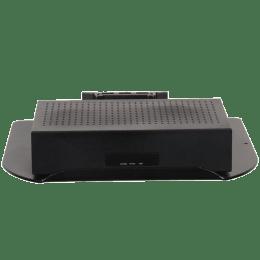 RD Plast Wall Mount Set-Top Box Stand (RW 4010-2, Black)_1