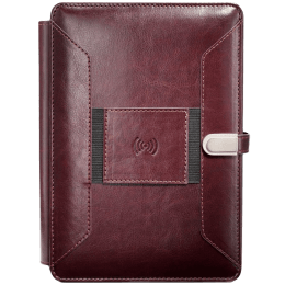 William Penn Superbook 8000 mAh Power Bank Diary (WP26785, Coffee Brown)_1